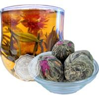 Чай China цветущий Шар два дракона (≈ 8-10 гр/шт)