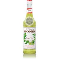 Сироп MONIN Зеленый лимон (для напитков и десертов) 1 л